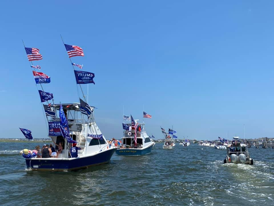 Pro-Law Enforcement/Trump Boat Parade, July 5, 2020 (Photo: Robert Joseph)
