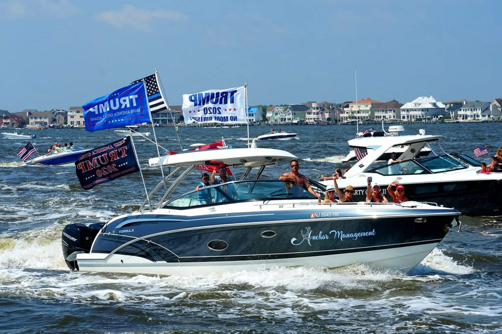 Pro-Law Enforcement/Trump Boat Parade, July 5, 2020 (Photo: Stephen Egan)