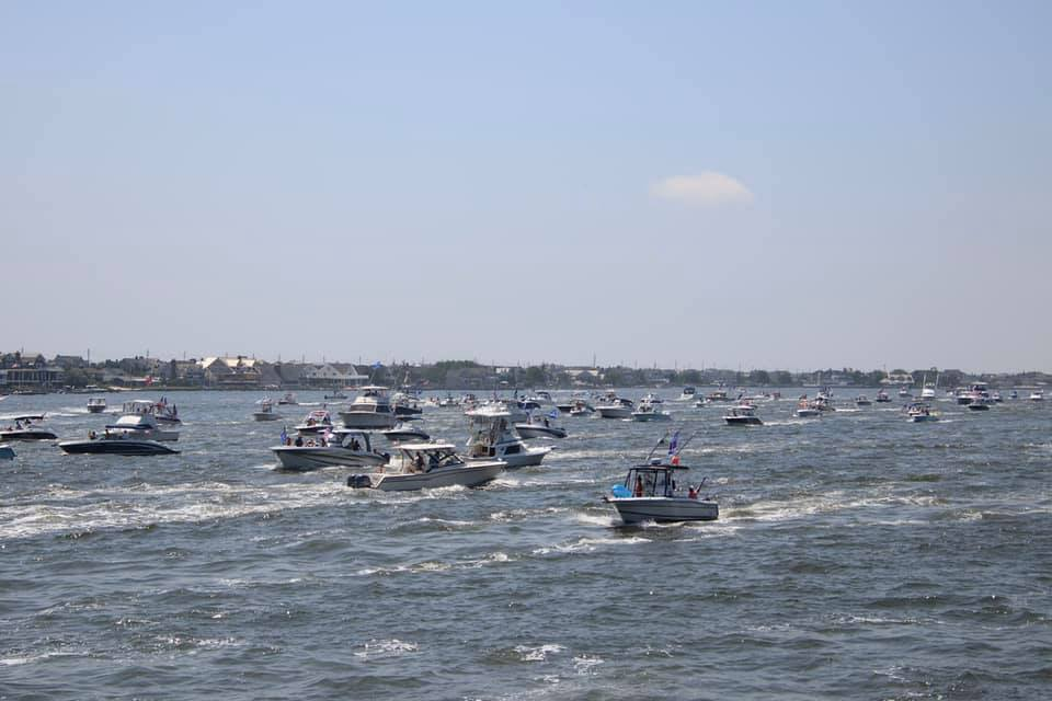 Pro-Law Enforcement/Trump Boat Parade, July 5, 2020 (Photo: Rose Stevens)