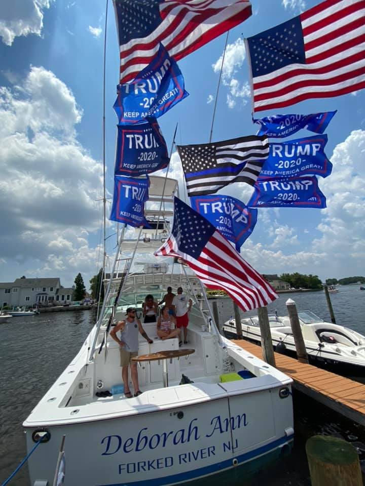 Pro-Law Enforcement/Trump Boat Parade, July 5, 2020 (Photo: Deborah Ann)