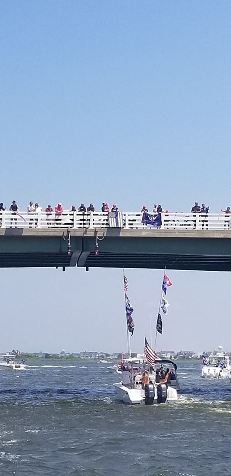 Pro-Law Enforcement/Trump Boat Parade, July 5, 2020 (Photo: Nicky Charles)