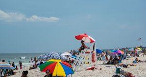 The Seaside Heights beachfront, July 2020. (Photo: Daniel Nee)