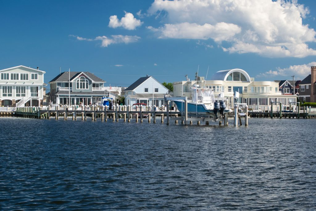 A dock more than 300-feet long is leading to legal action in Lavallette. (Photo: Daniel Nee)