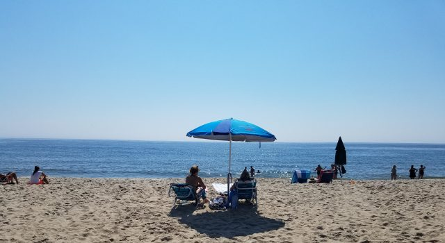 A beach day at the Jersey Shore, Aug. 2020. (Photo: Patricia Nee)