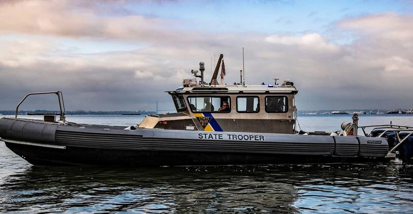 New Jersey State Police marine unit boat. (Photo: NJSP)
