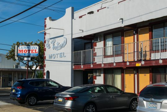 The La Fontana Motel in Seaside Heights, the subject of complaints at an Aug. 2020 borough council meeting. (Photo: Daniel Nee)