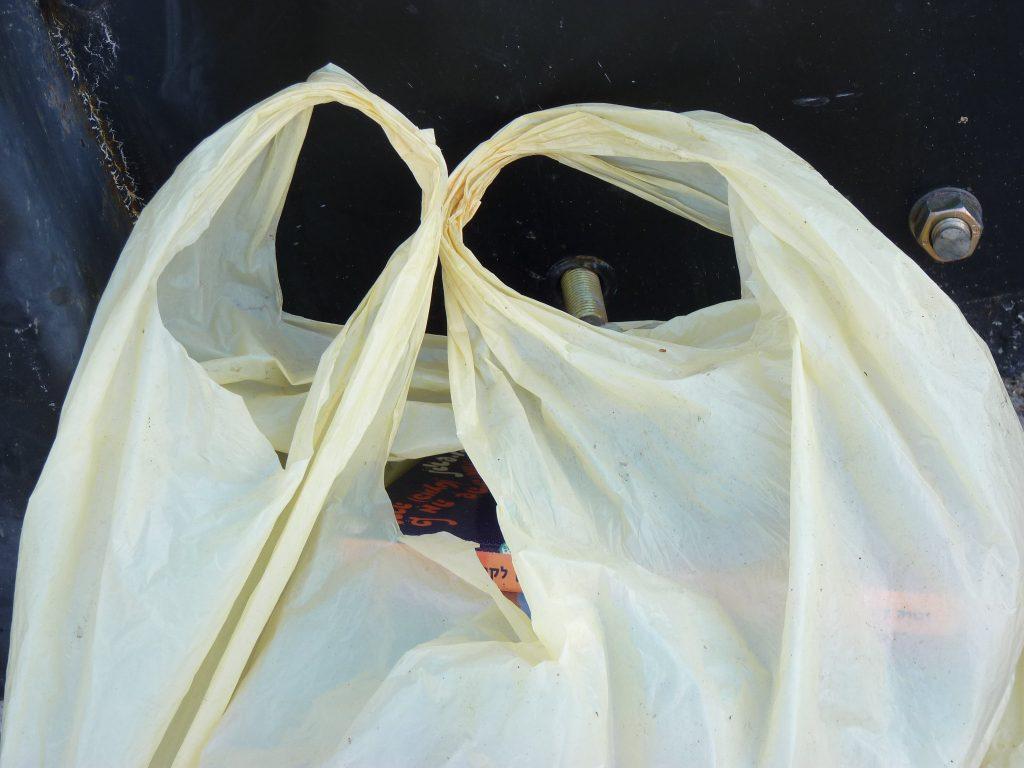 Plastic bag. (Credit: zeevveez/ Flickr)