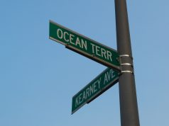 Ocean Terrace and Kearney Avenue, Seaside Heights. (Photo: Daniel Nee)