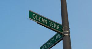 Ocean Terrace and Kearney Avenue, Seaside Heights. (Photo: Daniel Nee)