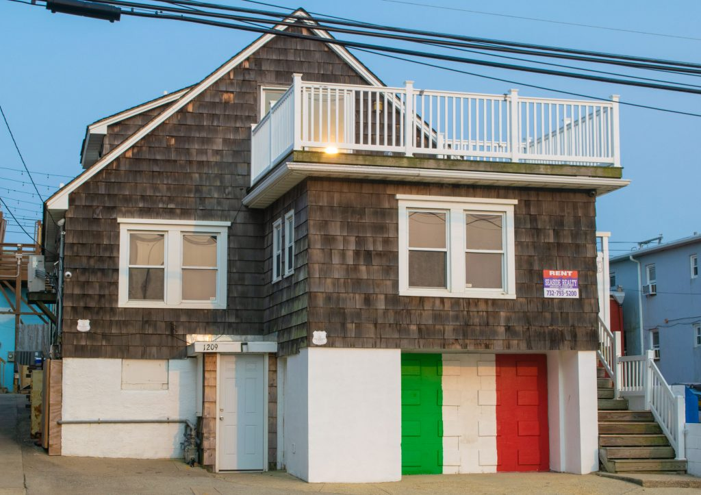 "The MTV ""Jersey Shore"" house, Ocean Terrace, Seaside Heights. (Photo: Daniel Nee)"