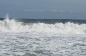 Rough surf, Sept. 14, 2020. (Photo: Patricia Nee)