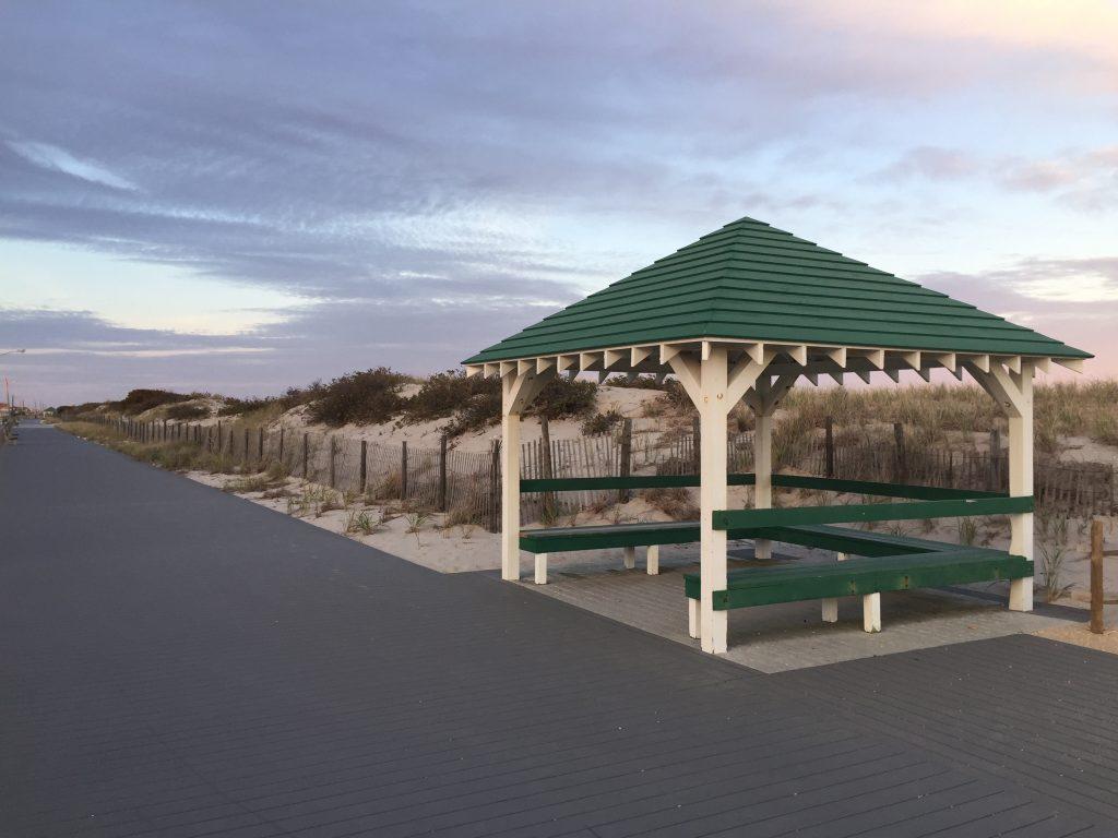 The Seaside Park boardwalk, Nov. 2020. (Photo: Daniel Nee)