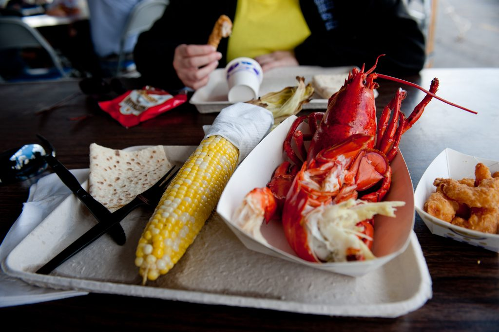 A lobster festival. (Credit: Fargo-Moorhead CVB/ Flickr)