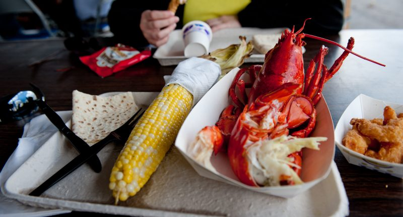 A lobster festival. (Credit: Fargo-Moorhead CVB/ Flickr)