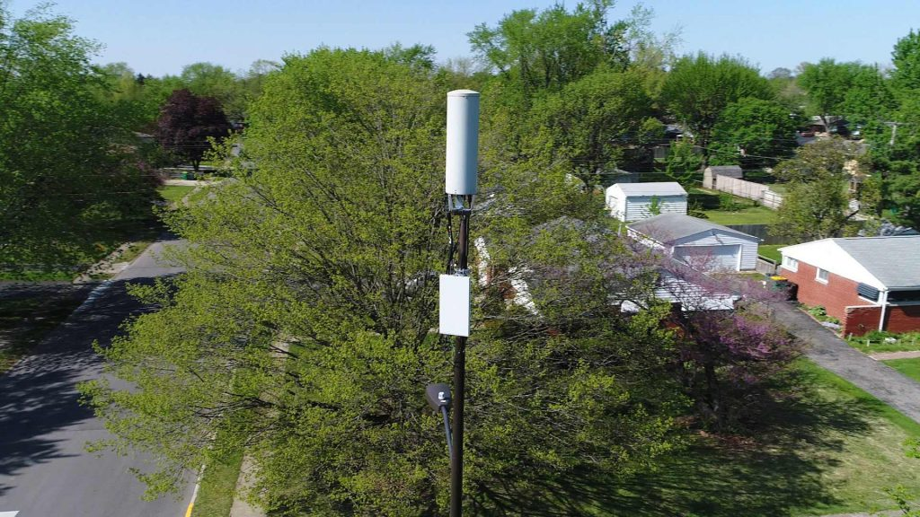 A Verizon Wireless 5G node. (Photo: Verizon Wireless)