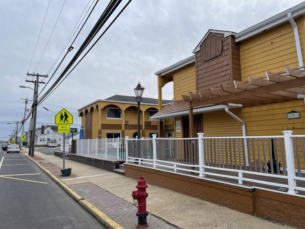 Quality Inn, Seaside Heights, N.J., proposed for demolition and replacement, Jan. 2021. (Photo: Daniel Nee)