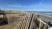 Toms River beaches in March 2021, still showing signs of damage from the Feb. 1-2 nor'easter. (Photo: Daniel Nee)