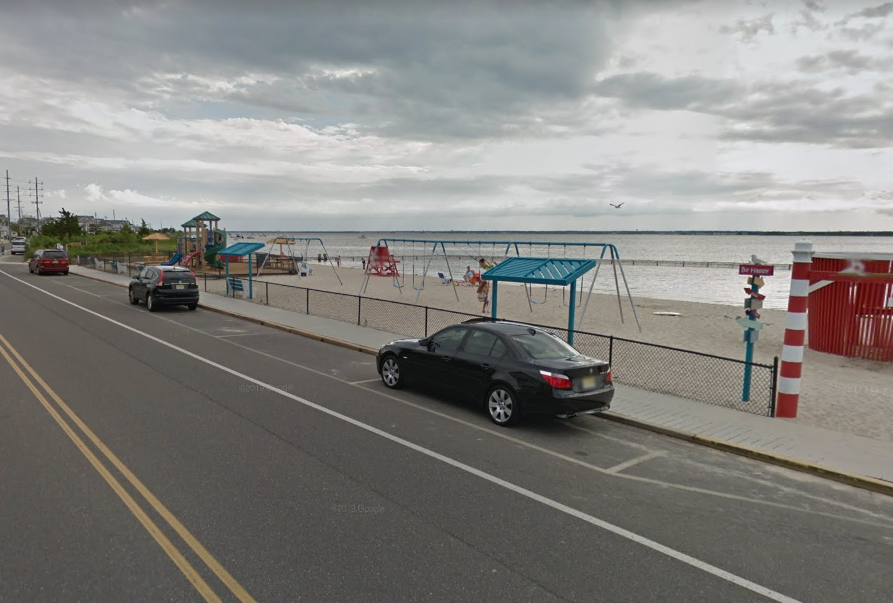 The Bay Avenue playground in Seaside Park. (Credit: Google Maps)
