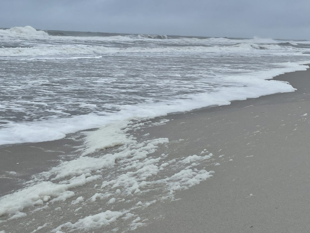 Ortley Beach suffers damage during the Memorial Day Weekend 2021 storm. (Photo: Daniel Nee)