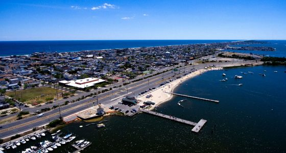 The Seaside Heights bayfront and boat ramp area. (Photo: Seaside Heights Borough)