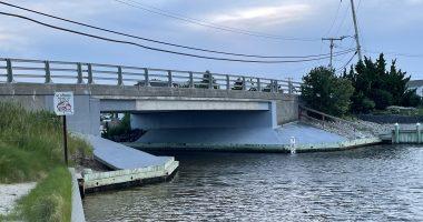 The West Point Island bridge and Lavallette boat ramp. (Photo: Daniel Nee)