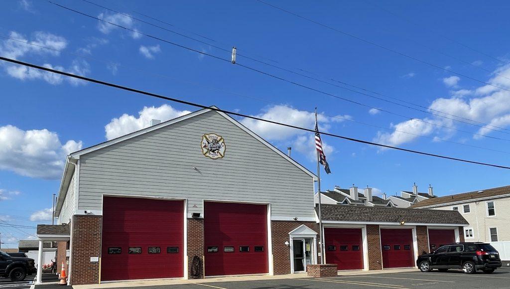 The Ocean Beach Fire Company station, Toms River, N.J. (Photo: Daniel Nee)