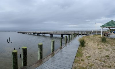 The area of the 14th Avenue Pier in Seaside Park, with a view of the south side. (Photo: Daniel Nee)