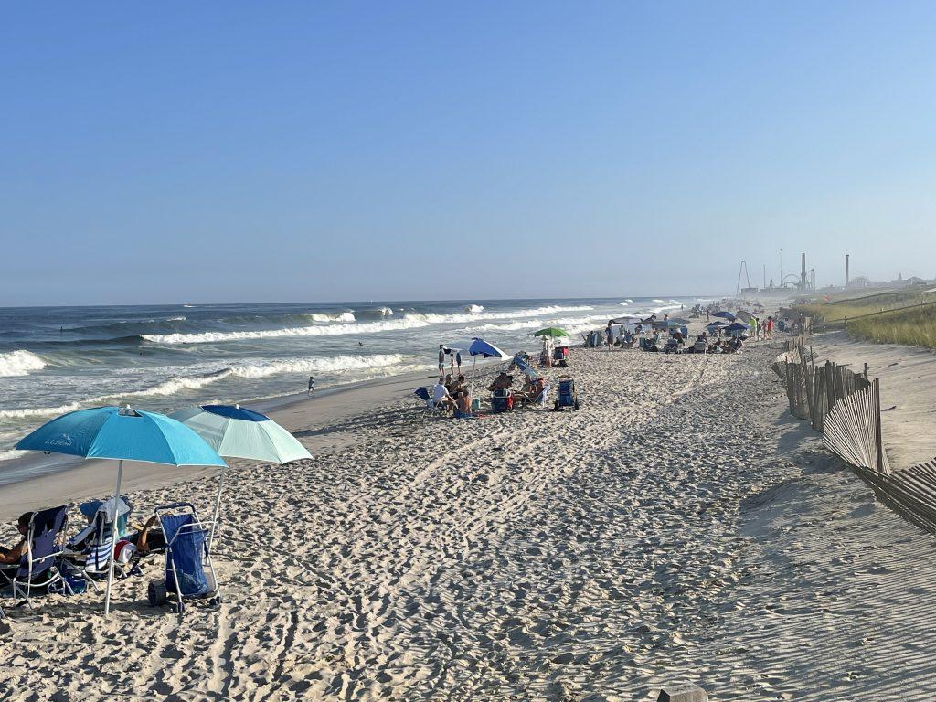 Rough surf plagues the Jersey Shore, Sept. 18, 2021. (Photo: Daniel Nee)