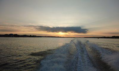 Sunset on Barnegat Bay, Oct. 7, 2021. (Photo: Daniel Nee)