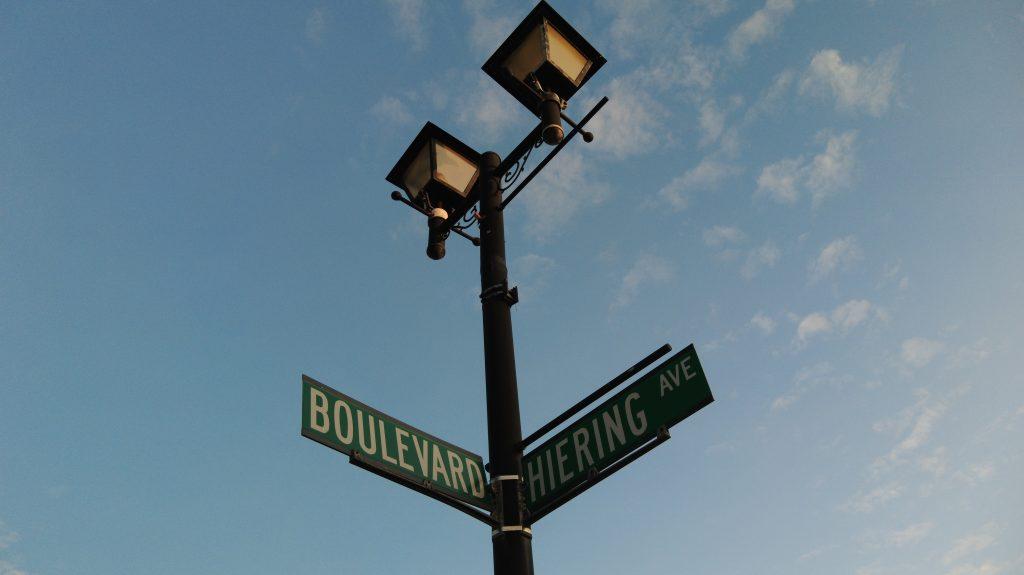 The Boulevard and Hiering Avenue, Seaside Heights. (Photo: Daniel Nee)